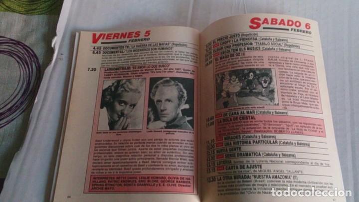 Coleccionismo de Revista Teleprograma: REVISTA TP N 1139 FEBRERO 1988 - Foto 2 - 104053791