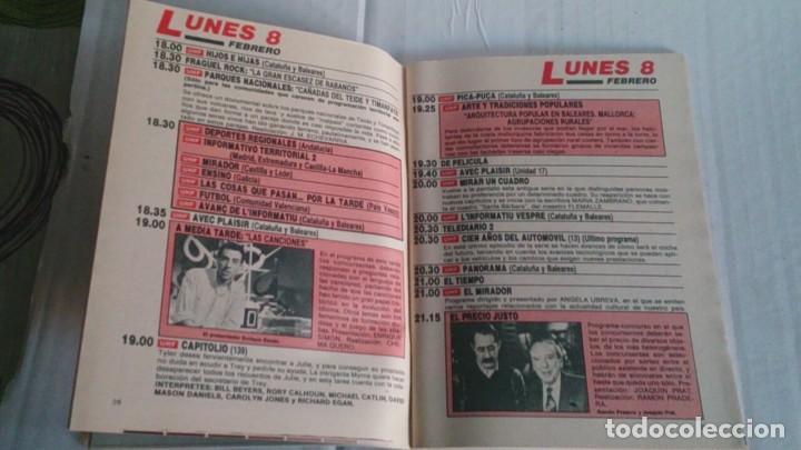 Coleccionismo de Revista Teleprograma: REVISTA TP N 1140 FEBRERO 1988 - Foto 2 - 104054083