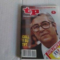 Coleccionismo de Revista Teleprograma: REVISTA TP N 1141 FEBRERO 1988. Lote 104054335