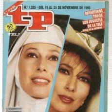 Coleccionismo de Revista Teleprograma: TP. TELEPROGRAMA. Nº 1285. 25 NOVIEMBRE 1990. (P/B30). Lote 105608567