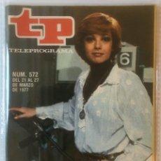 Coleccionismo de Revista Teleprograma: LOTE DE 5 REVISTAS TELEPROGRAMA. TP. VER FOTOS.. Lote 105775055