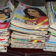 Coleccionismo de Revista Teleprograma: LOTE DE 133 REVISTAS TP. EN EUROS Y PESETAS. BUEN ESTADO. VER NÚMEROS EN DESCRIPCION. Lote 109009046