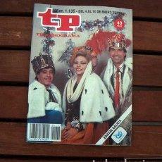 Coleccionismo de Revista Teleprograma: TP / TELEPROGRAMA / UN DOS TRES / MAYRA GOMEZ KEMP. Lote 107194435