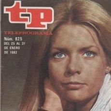 Coleccionismo de Revista Teleprograma: REVISTAS TP AÑOS 80. Lote 107420799