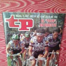 Coleccionismo de Revista Teleprograma: REVISTA TP DE 1988 TOUR EN DIRECTO . Lote 108669015