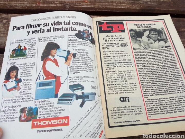 Coleccionismo de Revista Teleprograma: Tp teleprograma n'869 ulises 31.año 1982. - Foto 5 - 108710660