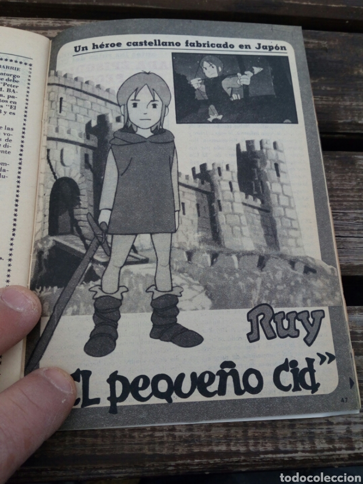 Coleccionismo de Revista Teleprograma: Tp teleprograma n'757,El pequeño cid.año 1980 - Foto 3 - 108710971