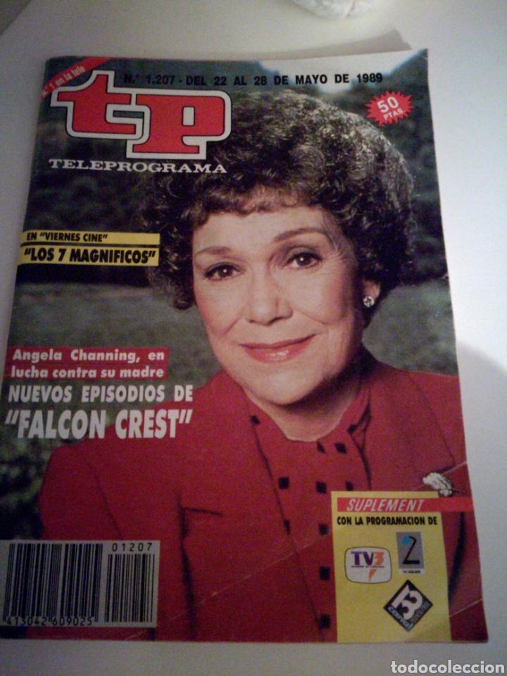 TELEPROGRAMA 1207 MAYO 1989 (Coleccionismo - Revistas y Periódicos Modernos (a partir de 1.940) - Revista TP ( Teleprograma ))