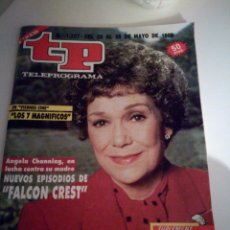 Coleccionismo de Revista Teleprograma: TELEPROGRAMA 1207 MAYO 1989. Lote 110115215