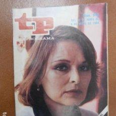 Coleccionismo de Revista Teleprograma: TP 943 AÑO REVISTA TELEPROGRAMA 1984. Lote 112040915