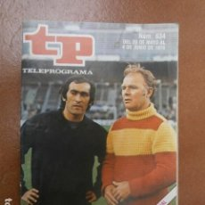 Coleccionismo de Revista Teleprograma: TP 634 AÑO REVISTA TELEPROGRAMA 1978 . Lote 112041415
