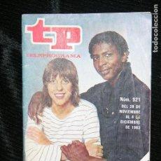 Coleccionismo de Revista Teleprograma: F1 TP TELEPROGRAMA Nº 921 AÑO 1983 MERCEDES Y EDDI TOCATA . Lote 112078615
