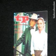 Coleccionismo de Revista Teleprograma: F1 TP TELEPROGRAMA AÑO 1982 Nº 863 EL REGRESO DE FARRAH FAWCETT. Lote 113172635