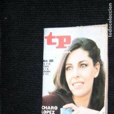 Coleccionismo de Revista Teleprograma: F1 TP TELEPROGRAMA AÑO 1975 Nº 499 CHARO LOPEZ . Lote 113173255