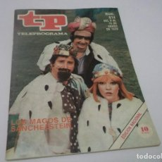 Coleccionismo de Revista Teleprograma: REVISTA TP TELEPROGRAMA Nº 614 LOS MAGOS DE SANCHEZSTEIN.UN.DOS.TRES...... Lote 115174519