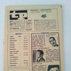 Coleccionismo de Revista Teleprograma: TP. TELEPROGRAMA. N°146, AÑO 1969. COMPLETO SIN TAPAS. Lote 117404056