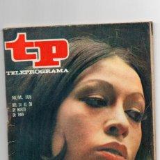 Coleccionismo de Revista Teleprograma: TELEPROGRAMA Nº 155 MARZO 1969, MASSIEL, EDICIÓN MADRID. Lote 117454451
