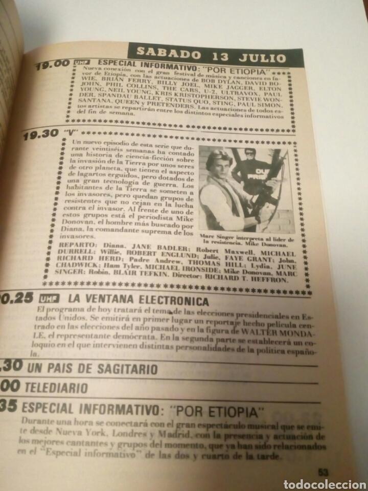 Coleccionismo de Revista Teleprograma: Revista TP n1005 ,«El Gran Héroe Americano» año 1985 - Foto 2 - 197159317