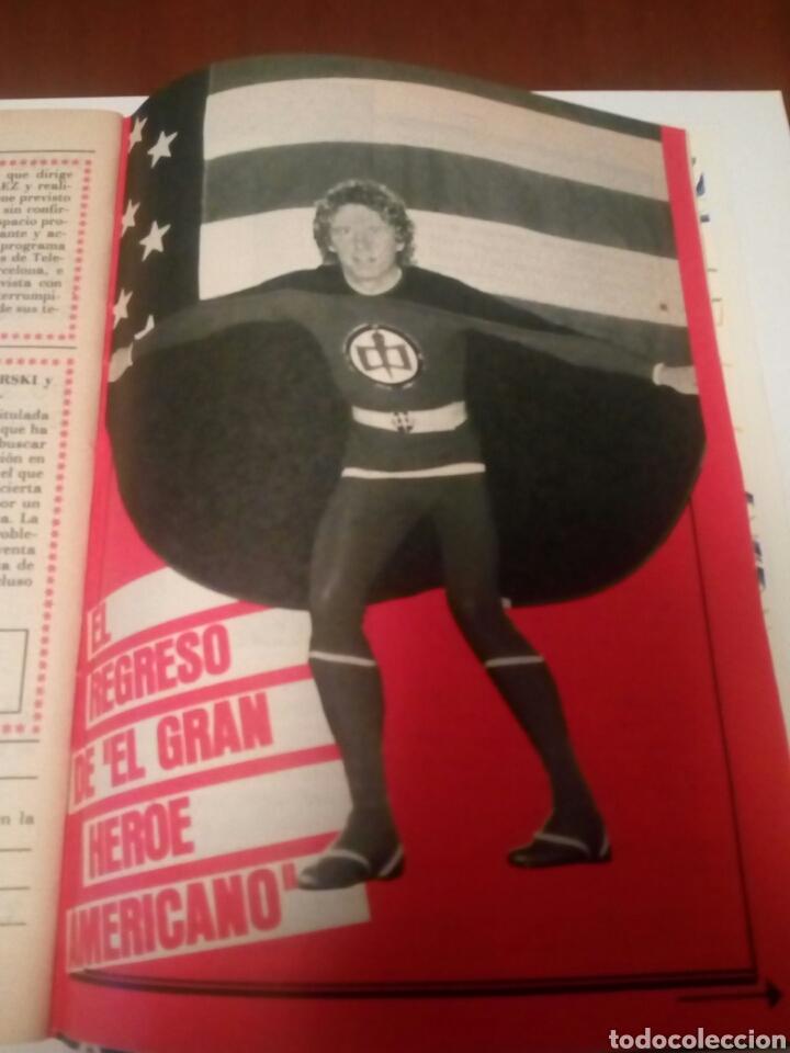 Coleccionismo de Revista Teleprograma: Revista TP n1005 ,«El Gran Héroe Americano» año 1985 - Foto 5 - 197159317
