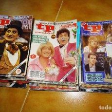 Coleccionismo de Revista Teleprograma: LOTE DE 50 TELEPROGRAMAS TP DE 1988 1989 Y 1990. VER FOTOS PARA VER LOS EJEMPLARES. Lote 128667159