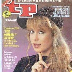 Coleccionismo de Revista Teleprograma: REVISTA TP -TELEPROGRAMA Nº1303 1991 MIRIAM. Lote 122691183
