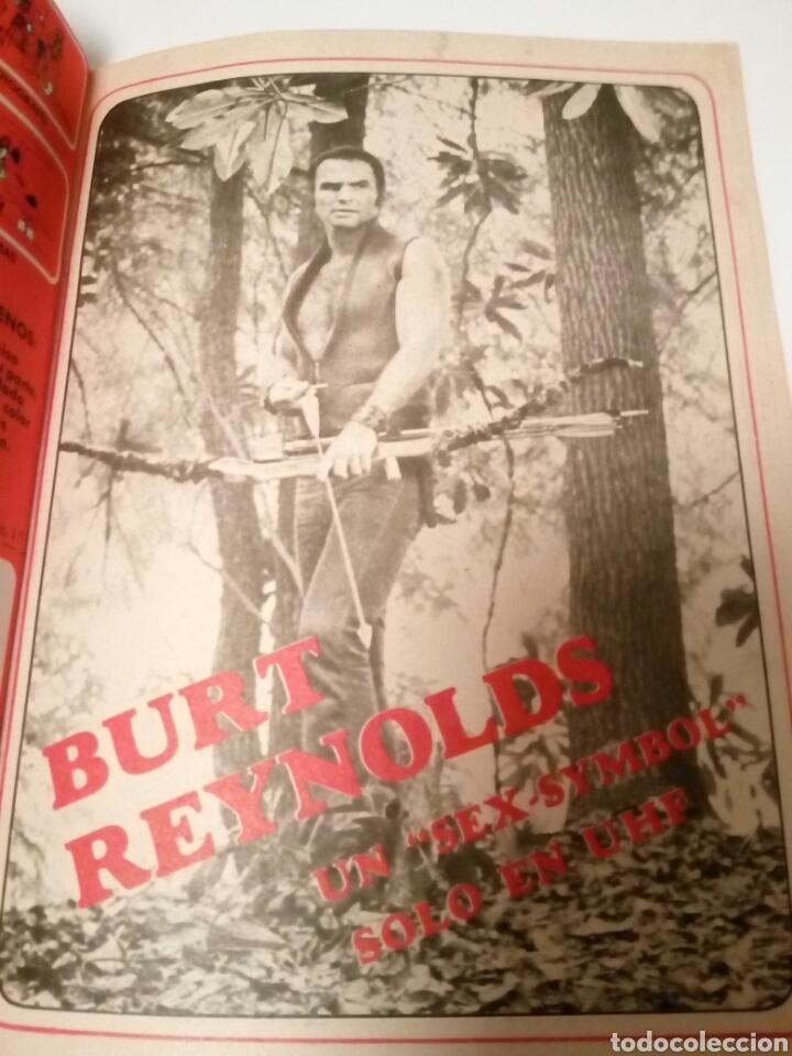 Coleccionismo de Revista Teleprograma: Revista TP n465 Burt Reynolds solo en UHF. Año 1975 - Foto 3 - 122727026
