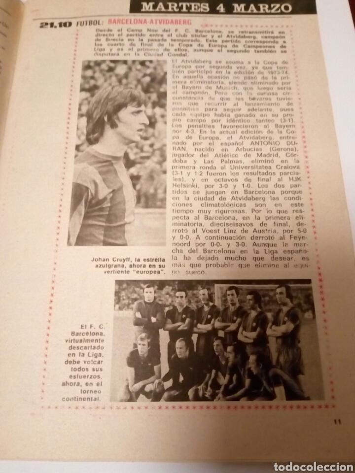 Coleccionismo de Revista Teleprograma: Revista TP n465 Burt Reynolds solo en UHF. Año 1975 - Foto 4 - 122727026