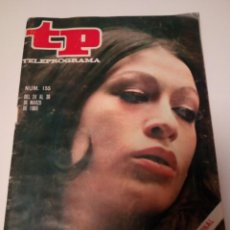Coleccionismo de Revista Teleprograma: REVISTA TP N'155 MASSIEL, AÑO 1969. Lote 122727239