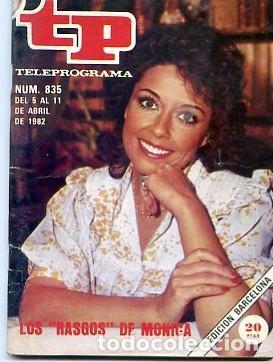 REVISTA TP TELEPROGRAMA Nº835 1982 (Coleccionismo - Revistas y Periódicos Modernos (a partir de 1.940) - Revista TP ( Teleprograma ))