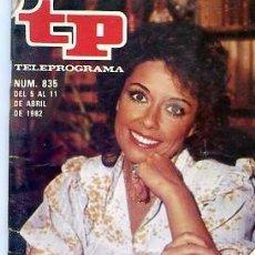 Coleccionismo de Revista Teleprograma: REVISTA TP TELEPROGRAMA Nº835 1982 . Lote 122755975