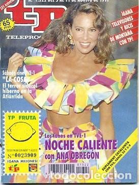 REVISTA TP TELEPROGRAMA Nº1322 1991 (Coleccionismo - Revistas y Periódicos Modernos (a partir de 1.940) - Revista TP ( Teleprograma ))
