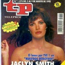 Coleccionismo de Revista Teleprograma: REVISTA TP TELEPROGRAMA Nº1374 1992. Lote 122757235