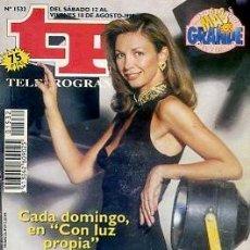 Coleccionismo de Revista Teleprograma: REVISTA TP TELEPROGRAMA Nº1532 1995. Lote 122757327