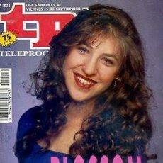 Coleccionismo de Revista Teleprograma: REVISTA TP TELEPROGRAMA Nº1536 1995. Lote 122757551