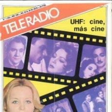 Coleccionismo de Revista Teleprograma: REVISTA TELERADIO 1981. N.1230. . Lote 124619095