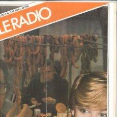 Coleccionismo de Revista Teleprograma: REVISTA TELERADIO 1981. N.1228. Lote 124619735