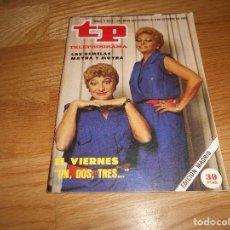 Coleccionismo de Revista Teleprograma: REVISTA TP TELEPROGRAMA Nº 1017 10/85 MAYRA GOMEZ UN DOS TRES. Lote 125077127