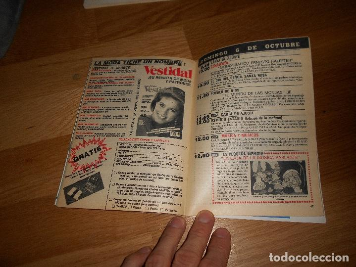 Coleccionismo de Revista Teleprograma: REVISTA TP TELEPROGRAMA Nº 1017 10/85 MAYRA GOMEZ UN DOS TRES - Foto 3 - 125077127
