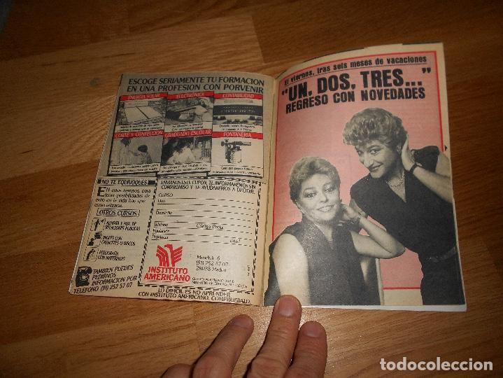 Coleccionismo de Revista Teleprograma: REVISTA TP TELEPROGRAMA Nº 1017 10/85 MAYRA GOMEZ UN DOS TRES - Foto 4 - 125077127