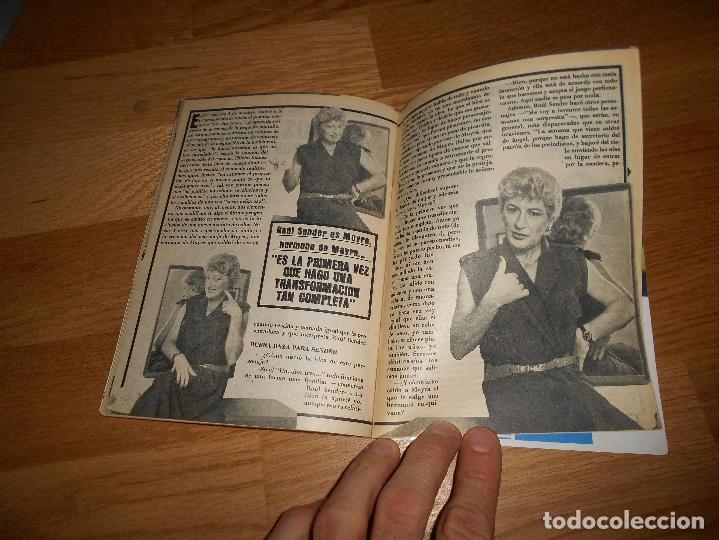 Coleccionismo de Revista Teleprograma: REVISTA TP TELEPROGRAMA Nº 1017 10/85 MAYRA GOMEZ UN DOS TRES - Foto 5 - 125077127