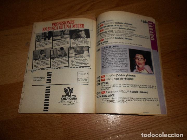 Coleccionismo de Revista Teleprograma: REVISTA TP TELEPROGRAMA 1161 MORMA DUVAL CONTIGO HEIDI LAS CHICAS DE ORO BOLA CRISTAL MARTA SANCHEZ - Foto 5 - 125328887