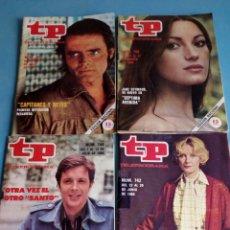 Coleccionismo de Revista Teleprograma: REVISTA TP N'742-744-746-749 AÑO 1980. Lote 128011176