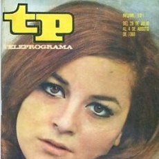 Coleccionismo de Revista Teleprograma: REVISTA TELEPROGRAMA Nº 121 MARIA MASSIP /LAURA VALENZUELA . Lote 128443203