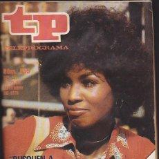 Coleccionismo de Revista Teleprograma: REVISTA TP TELEPROGRAMA Nº 555 CHRISTIE LOVE . Lote 128544127