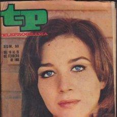 Coleccionismo de Revista Teleprograma: REVISTA TP TELEPROGRAMA Nº 98 MARISA PAREDES. Lote 128544203