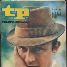 Coleccionismo de Revista Teleprograma: REVISTA TP TELEPROGRAMA Nº 83 TONY LEBLANC. Lote 128553335