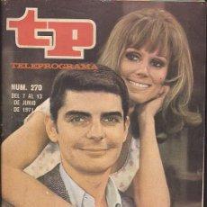 Coleccionismo de Revista Teleprograma: REVISTA TP TELEPROGRAMA Nº 270 SERIE EL Y ELLA . Lote 128553455