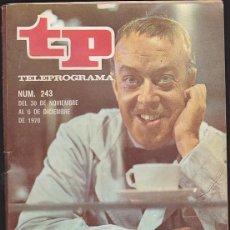 Coleccionismo de Revista Teleprograma: REVISTA TP TELEPROGRAMA Nº 243 ANTONIO GARISA . Lote 128553547