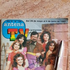 Coleccionismo de Revista Teleprograma: ANTENA TV CONCURSO UN DOS TRES 1983 BOTILDE SILVIA MARSÓ TVE TELEPROGRAMA TP REVISTA TELE. Lote 129415426