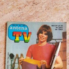 Coleccionismo de Revista Teleprograma: ANTENA TV CONCURSO UN DOS TRES 1983 BOTILDE KIM MANNING TELEPROGRAMA TVE TP REVISTA TELE. Lote 129415824
